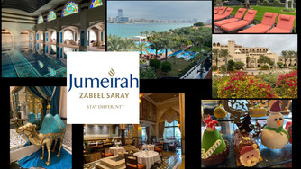 The Top 15 reasons why we loved staying at the Jumeirah Zabeel Saray in Dubai