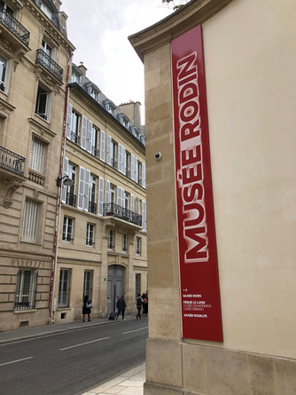 Located in the 18th century Hotel Biron is the impressive collection of Auguste Rodin at the Musee R