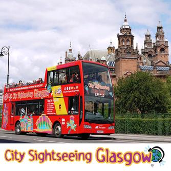 City Sightseeing Glasgow Scotland