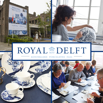 We loved the Royal Delft Netherlands Museum and Factory Tour and Glorious High Tea in Brasserie 1653