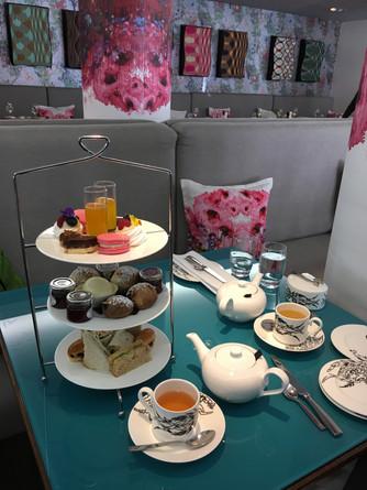 Experience an elegant Afternoon Tea at Cucina in the G&V Royal Mile Hotel Edinburgh Scotland