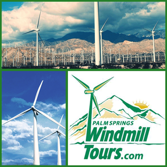 Palm Springs Windmill Tour in Palm Springs California