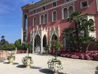 Villa Ephrussi de Rothschild  in Saint-Jean-Cap-Ferrat  France