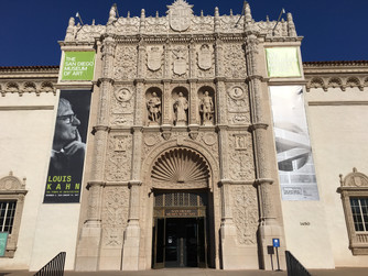 The San Diego Museum of Art in Beautiful Balboa Park California