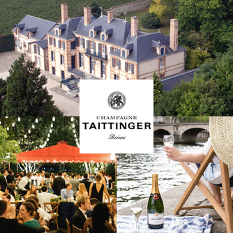 Our favorite Champagne House in Reims France - The House of Taittinger