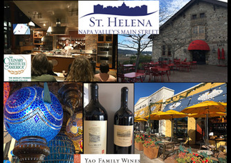 Visit the beautiful city of St Helena, California