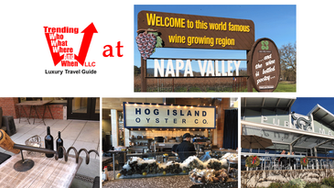 We had a great time exploring the City of Napa, California and Oxbow Public Market