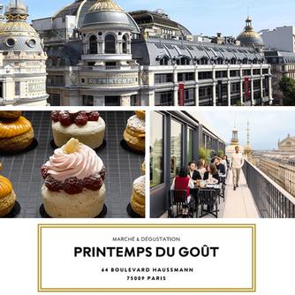 We enjoyed our visit to delicious Printemps du Gout in Paris France