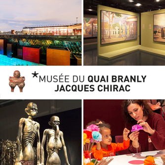 We enjoyed visiting Musee du quai Branly in Paris, France which features indigenous art and cultures