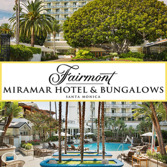 We loved the Fairmont Miramar Hotel & Bungalows and FIG Restaurant in Santa Monica California
