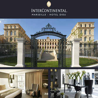 We loved EVERYTHING about our stay at this beautiful resort  -InterContinental Marseille Hotel Dieu