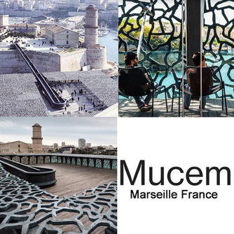 We loved visiting Mucem with lunch at Le Môle Passédat in Marseille, France