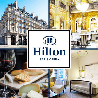 Our favorite place to stay in Paris is the elegant and historic Hilton Paris Opera Hotel