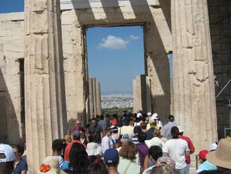 One Perfect Mediterranean Cruise Acropolis Athens Greece