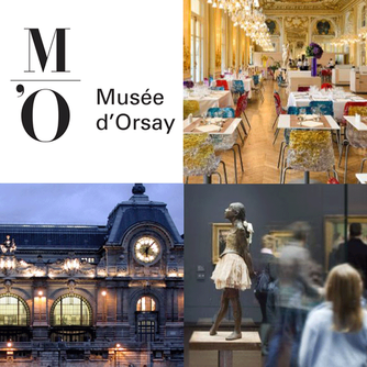 The Musée d'Orsay in Paris France named best museum in the world by TripAdvisor Travellers'