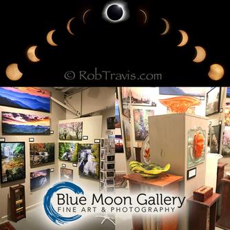 We loved visiting Blue Moon Gallery in Cedar Mountain North Carolina!
