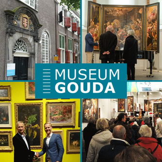 Learn about the history of Gouda, Netherlands at the Museum Gouda and enjoy lunch at the Museum Café