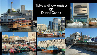 Take a Dhow Cruise on Dubai Creek