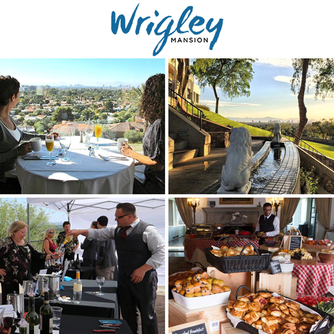We enjoyed a great tour of the Wrigley Mansion and dining at Geordie's with Chef Christopher Gross