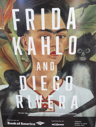 Frida Kahlo and Diego Rivera Exhibit at the Heard Museum Phoenix Arizona