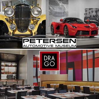 Peterson Automotive Museum and Drago Restaurant Los Angeles, California
