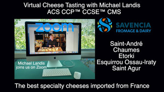 Michael Landis talks about Savencia Fromage & Dairy French Cheeses in this Virtual Cheese Tastin
