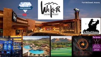 We loved our stay at We-Ko-Pa Casino Resort in Fort McDowell,  Arizona