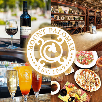 Visit Mount Palomar Winery in Temecula California for a delicious lunch and wine tasting experience