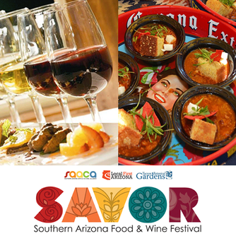 SAVOR Food & Wine Festival  February 3, 2018 at the Tucson Botanical Gardens in Tucson Arizona