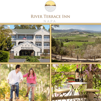 We loved our stay at the River Terrace Inn and dinner at ALBA Restaurant in Napa, California!