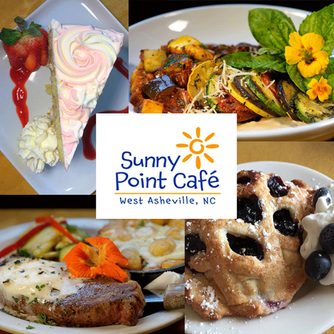 Sunny Point Cafe in Asheville North Carolina