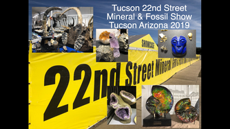 We loved seeing the 2019 Tucson Gem, Mineral & Fossils Showcase – The 22nd Street Mineral &