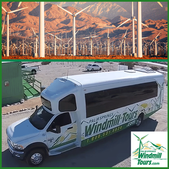 We loved the fun and informative Palm Springs Windmill Tour!