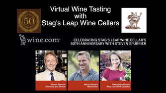 Virtual Wine Tasting Stag's Leap Wine Cellars for their 50th Anniversary with Marcus Notaro, Steven
