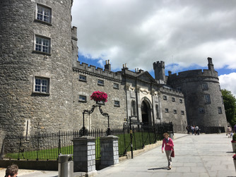 We loved visiting Kilkenny Castle and the Medieval Mile Museum in Ireland