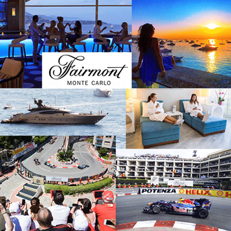 Enjoy a luxurious stay at the spectacular Fairmont Monte Carlo in Monaco