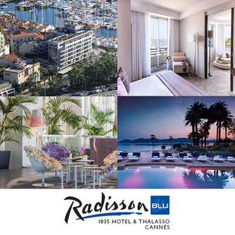 We loved our stay at Radisson Blu 1835 Hotel & Thalasso and dinner at Le 360° in Cannes France