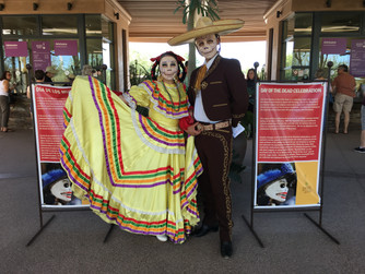 Dia de los Muertos Celebration Desert Botanical Garden Phoenix Arizona