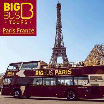 We loved the Big Bus Tour in Paris, France
