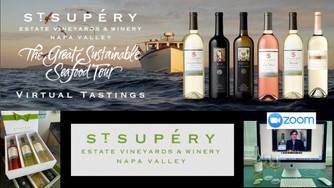 Virtual Wine Tasting with St. Supéry Estate Vineyards & Winery in Napa Valley California