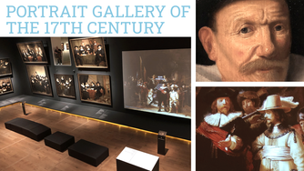 The Portrait Gallery of the Golden Age displays huge 17th century group portraits in Amsterdam, Neth