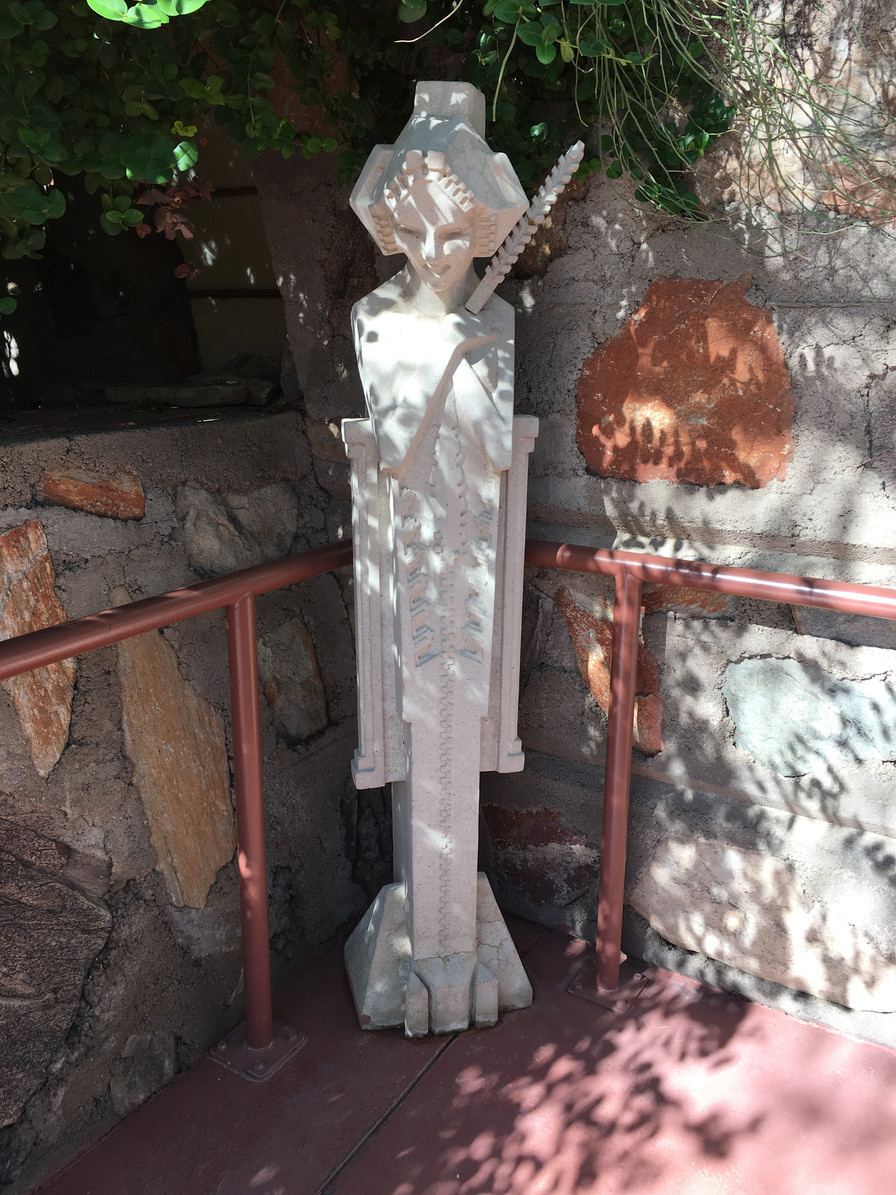 Explore beautiful Taliesin West, a National Historic Landmark in ...