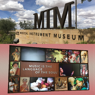 One Special Musical Instrument Museum Phoenix Arizona USA