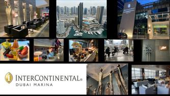It was a wonderful stay at the luxurious  InterContinental Dubai Marina