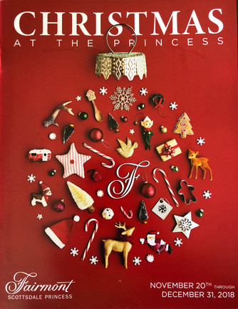 """Experience the MAGIC at the Fairmont Scottsdale Princess with """"Christmas at the Princess"""" and dinne"""