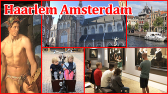 We spent the day at the beautiful medieval city of Haarlem in the Netherlands and visited the FransH