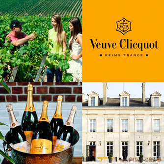 We enjoyed the tour at Veuve Clicquot Champagne House in Reims France