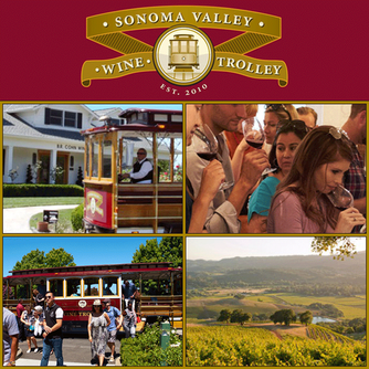 We had a great time on the Sonoma Valley Wine Trolley in Sonoma California!