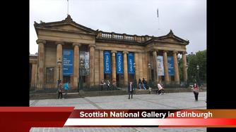 Visit the Scottish National Gallery in Edinburgh Scotland