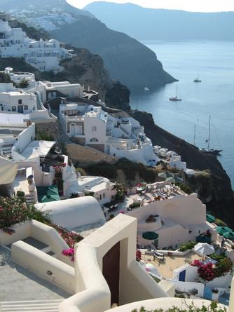 One Perfect Mediterranean Cruise Santorini Greece
